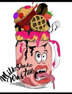 milkshake wasted